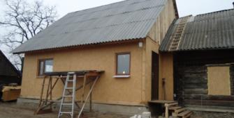 реконструкция дома сип панелями