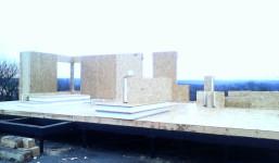 Белгородская область, пос. Таврово. Дом по проекту Диз 78 м.кв. 2016г
