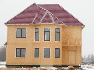 сколько стоит построить дом из сип панелей