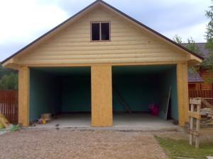 построить гараж из сип панелей