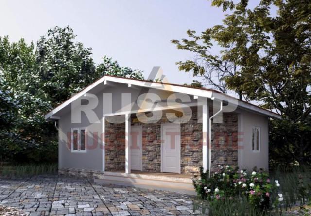 проект дома из сип панелей до 100 кв/м