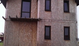 Белгородская область, пос. Разумное.  Дом по проекту Комфорт, 124 м.кв. 2014г
